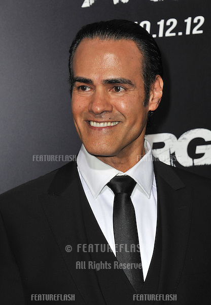 "Ali Saam at the Los Angeles premiere of his movie ""Argo"" at the Samuel Goldwyn Theatre, Beverly Hills..October 4, 2012  Beverly Hills, CA.Picture: Paul Smith / Featureflash"