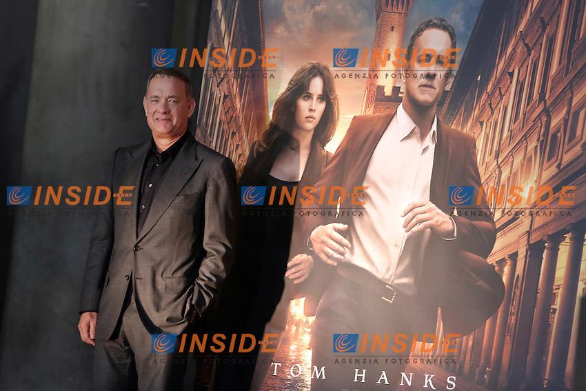 Tom Hanks<br /> Firenze 06-10-2016. Photocall del film 'Inferno' in anteprima mondiale.<br /> Rome 6th October 2016. 'Inferno' Photocall<br /> Foto Samantha Zucchi Insidefoto