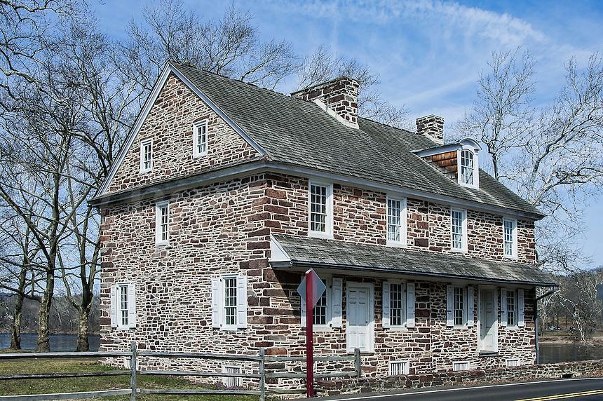 McConkey's Ferry Inn,.Washington Crossing Park, PA, Pennsylvania, USA