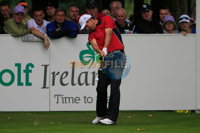 Padraig Harrington tees off on the 16th tee during Day 2 of the 3 Irish Open at the Killarney Golf & Fishing Club, 30th July 2010..(Picture Eoin Clarke/www.golffile.ie)