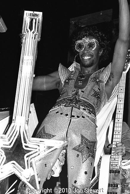 Bootsy Collins, June 2,1978, Oakland Coliseum Arena, Oakland, CA