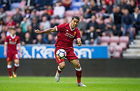 Roberto Firmino of Liverpool during the pre season friendly match between Wigan Athletic and Liverpool at the DW Stadium, Wigan, England on 14 July 2017. Photo by Andy Rowland.