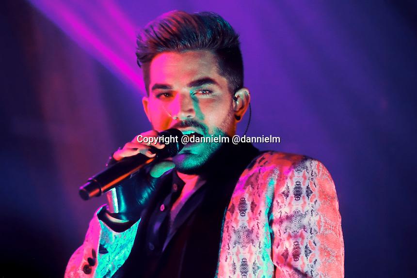 Adam Lambert's Original High tour at the Paramount Theater in Denver, CO