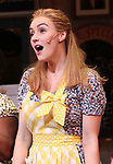 Betsy Wolfe takes a bow at the curtain call of Broadway's 'Waitress' at The Brooks Atkinson Theatre on November 3, 2017 in New York City.