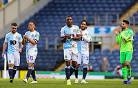 Blackburn Rovers' Amari'i Bell applauds the fans after the match<br /> <br /> Photographer Alex Dodd/CameraSport<br /> <br /> The EFL Sky Bet Championship - Blackburn Rovers v Stoke City - Saturday 6th April 2019 - Ewood Park - Blackburn<br /> <br /> World Copyright © 2019 CameraSport. All rights reserved. 43 Linden Ave. Countesthorpe. Leicester. England. LE8 5PG - Tel: +44 (0) 116 277 4147 - admin@camerasport.com - www.camerasport.com