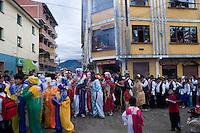 14.02.2010 Coroico(Bolivia)<br /> <br /> Street parade during the carnival.<br /> <br /> D&eacute;fil&eacute; dans les rues pendant le carnaval.