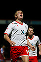 Mark Roberts of Stevenage celebrates scoring their second goal. - Stevenage v Tranmere Rovers - npower League 1 - Lamex Stadium, Stevenage - 17th December 2011  .© Kevin Coleman 2011 ... ....  ...  . .