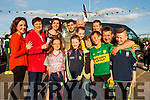 Caitriona O'Donoghue (Listry), Bernie and Dee Buckley, (Faha), Naoise O'Donoghue (Listry) Nora O'Donoghue (Listry) Louise O'Donoghue (Listry) Michael Geaney, Kate O'Donnell, Jimmy O'Donnell, Cathal O'Donoghue, Padraig O'Donoghue, Stephen O'Donoghue and Padraig O'Donoghue (Listry)  at the Kingdom Greyhound Stadium, Tralee, GAA Night of Champions on Friday night last.