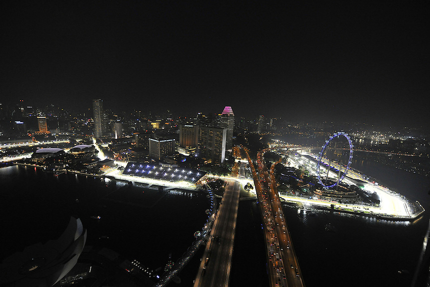 .Singapore F1 Grand Prix Impressions...2012 FIA Formula One World Championship - Singtel Formula One Grand Prix, Marina Bay Street Circuit, Singapore, Singapore, Friday 21st September 2012...