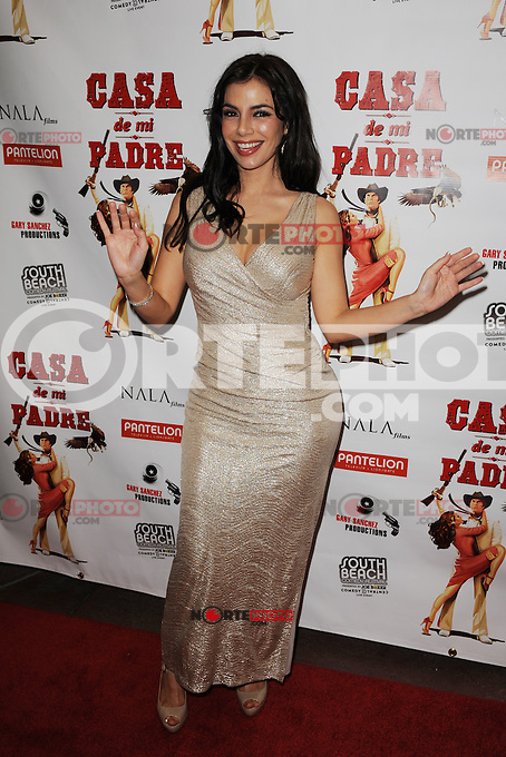 MIAMI BEACH , FL - FEBRUARY 29: Mariann Gavelo arrives at the Casa Di Mi Padre movie screening on February 29, 2012 in Miami Beach, Florida. © mpi04 / Media Punch Inc.