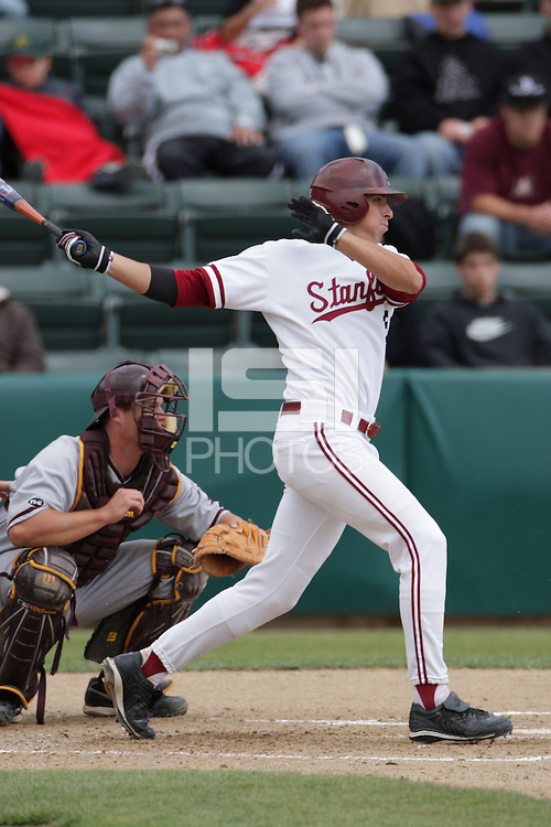 6 April 2008: Jason Castro during Stanford's 10-2 win against the Arizona State Sun Devils at Sunken Diamond in Stanford, CA.