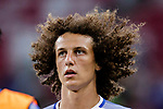Chelsea Defender David Luiz Warming up during the International Champions Cup 2017 match between FC Internazionale and Chelsea FC on July 29, 2017 in Singapore. Photo by Marcio Rodrigo Machado / Power Sport Images