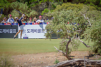 Charley Hull (GBR) during the third round of the ISPS Handa Women&rsquo;s Australian Open, The Grange Golf Club, Adelaide SA 5022, Australia, on Saturday 16th February 2019.<br /> <br /> Picture: Golffile | David Brand<br /> <br /> <br /> All photo usage must carry mandatory copyright credit (&copy; Golffile | David Brand)