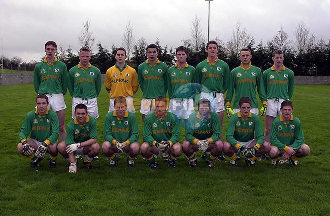 Meath Junior Team.Pic Fran Caffrey Newsfile
