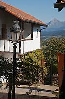 Europe/Espagne/Pays Basque/Guipuscoa/Goierri/Zerain: Maison du village