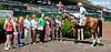 Beyond Smart winning at Delaware Park racetrack on 6/2/14