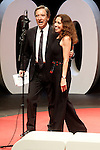 "The spanish journalist Inaki Gabilondo with the singer Ana Belen during the Gala ""Contigo"" in celebration of the 90th anniversary of Radio Madrid Cadena SER. June 2, 2015. (ALTERPHOTOS/Acero)"