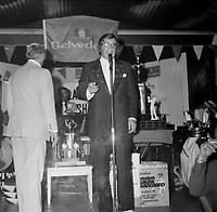 L'omnium du  chanteur et comedien Claude Blanchard, 10 aout 1976<br /> PHOTO :  Agence Quebec Presse - Roland Lachance