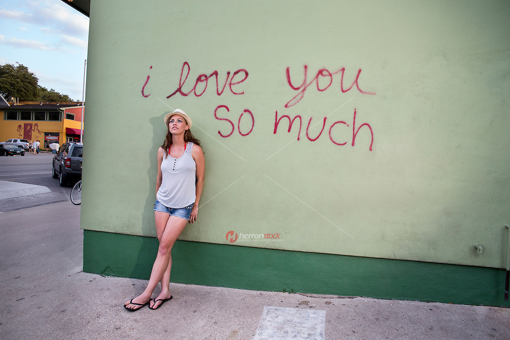 """Iconic Austin: """"I love you so much"""" mural on South Congress is Austin's most popular mural."""