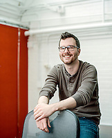 gSchool student Logan Sears (cq) at Galvanize in Denver, Colorado, Monday, March 4, 2013. According to their website: Galvanize creates an ?innovation ecosystem? designed to give entrepreneurs and innovators the best chance of success at the start of their next (or first) big thing. Through the three pillars of Capital, Community, and Curriculum, Galvanize builds a community greater than the sum of its parts to spark disruptive ideas and breakout companies.