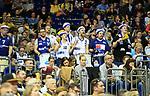 10.05.2019, Mercedes Benz Arena, Berlin, GER, ALBA BERLIN vs.  Eisbaeren Bremerhaven, <br /> im Bild Bremerhaven-Fanblock<br /> <br />      <br /> Foto © nordphoto / Engler