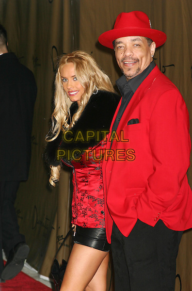 ICE T & FIANCEE COCO.at Janet Jackson party in New York.*UK Sales Only*.March 2004.www.capitalpictures.com.sales@capitalpictures.com.©Capital Pictures.
