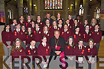 Bishop Bill Murphy who confirmed the pupils from Moyderwell Primary School, Tralee on Friday, in St John's Church, Tralee. ...Pupils from Gaelscoil Mhic Eaismann who were confirmed on Friday in St John's Church, Tralee by Bishop Bill Murphy.....   Copyright Kerry's Eye 2008