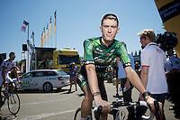 Pierre Rolland (FRA/Europcar)<br /> <br /> 2014 Tour de France<br /> stage 12: Bourg-en-Bresse - Saint-Eti&egrave;nne (185km)