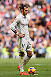 Gareth Bale of Real Madrid in action during their La Liga match between Real Madrid and Deportivo Leganes at the Estadio Santiago Bernabéu on 06 November 2016 in Madrid, Spain. Photo by Diego Gonzalez Souto / Power Sport Images