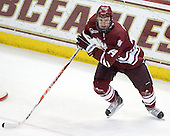 Matt Irwin (UMass - 44) - The Boston College Eagles defeated the University of Massachusetts-Amherst Minutemen 6-5 on Friday, March 12, 2010, in the opening game of their Hockey East Quarterfinal matchup at Conte Forum in Chestnut Hill, Massachusetts.