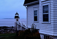 Marshall Point Light Station, Port Clyde, Maine, USA. Est. 1832