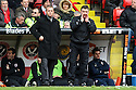 Stevenage manager Gary Smith and assistant Mark Newson. - Sheffield United v Stevenage - npower League 1 - Bramall Lane, Sheffield  - 28th April, 2012. © Kevin Coleman 2012