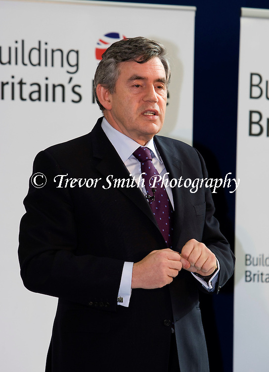Gordon Brown MP, British Labour Party politician who was the Prime Minister and Leader of the Labour Party from 2007 until 2010.