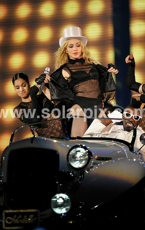 **ALL ROUND PICTURES FROM SOLARPIX.COM**.**SYNDICATION RIGHTS FOR UK AND SPAIN ONLY**.Madonna performing in concert at the Olympic Stadium in Berlin, Germany. 28th August 2008..JOB REF: 7147 CPR/Michael Gottschalk        .DATE: 28_08_2008.**MUST CREDIT SOLARPIX.COM OR DOUBLE FEE WILL BE CHARGED* *UNDER NO CIRCUMSTANCES IS THIS IMAGE TO BE REPRODUCED FOR ANY ONLINE EDITION WITHOUT PRIOR PERMISSION*