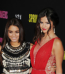 HOLLYWOOD, CA - MARCH 14: Vanessa Hudgens and Selena Gomez attend the 'Spring Breakers' Los Angeles Premiere at ArcLight Hollywood on March 14, 2013 in Hollywood, California.