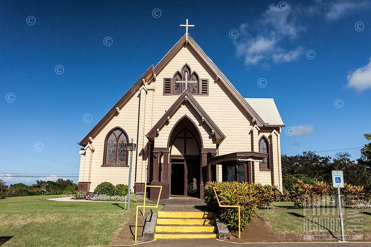 Sacred Heart Church, Hawi, Big Island.
