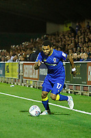 AFC Wimbledon's Andy Barchan in action during the Sky Bet League 1 match between AFC Wimbledon and MK Dons at the Cherry Red Records Stadium, Kingston, England on 22 September 2017. Photo by Carlton Myrie / PRiME Media Images.