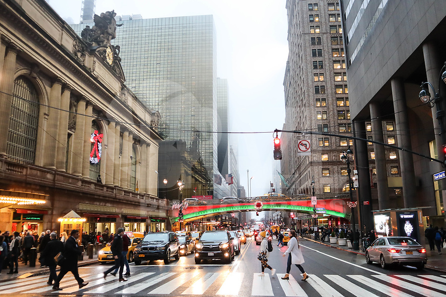 NOVA YORK, EUA, 21.12.2018 - TURISMO-EUA - Vista da Grand Central na ilha da Manhattan na cidade de Nova York nesta sexta-feira, 21. (Foto: William Volcov/Brazil Photo Press)