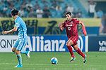 Shanghai FC Forward Givanildo Vieira De Sousa (Hulk) (R) in action during the AFC Champions League 2017 Round of 16 match between Jiangsu FC (CHN) vs Shanghai SIPG FC (CHN) at the Nanjing Olympic Stadium on 31 May 2017 in Nanjing, China. Photo by Marcio Rodrigo Machado / Power Sport Images