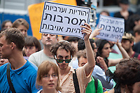 2014/07/30 Berlin | Israelis demonstrieren gegen Gaza-Krieg