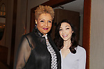 Geneva Williams & Meryl Davis - Figure Skating in Harlem's Champions in Life (in its 21st year) Benefit Gala recognizing the medal-winning 2018 US Olympic Figure Skating Team on May 1, 2018 at Pier Sixty at Chelsea Piers, New York City, New York. (Photo by Sue Coflin/Max Photo)