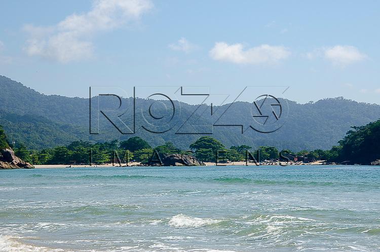 Praia do Meio, Vila de Trindade - Paraty- RJ, 12/2013.