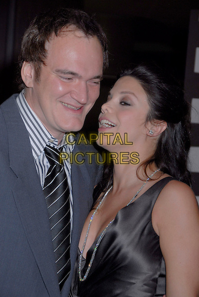 QUENTIN TARANTINO & VANESSA FERLITO .2007 ACE Eddie Awards 57th Annual Gala held at the Beverly Hilton Hotel, Beverly Hills, California, USA,.18 February 2007..half length couple.CAP/ADM/GB.©Gary Boas/AdMedia/Capital Pictures.