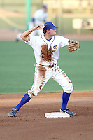 Danny Stienstra #2 of the San Jose State Spartans plays against the Hawaii Rainbows in the Western Athletic Conference post-season tournament at Hohokam Stadium on May 26, 2011 in Mesa, Arizona. .Photo by:  Bill Mitchell/Four Seam Images.