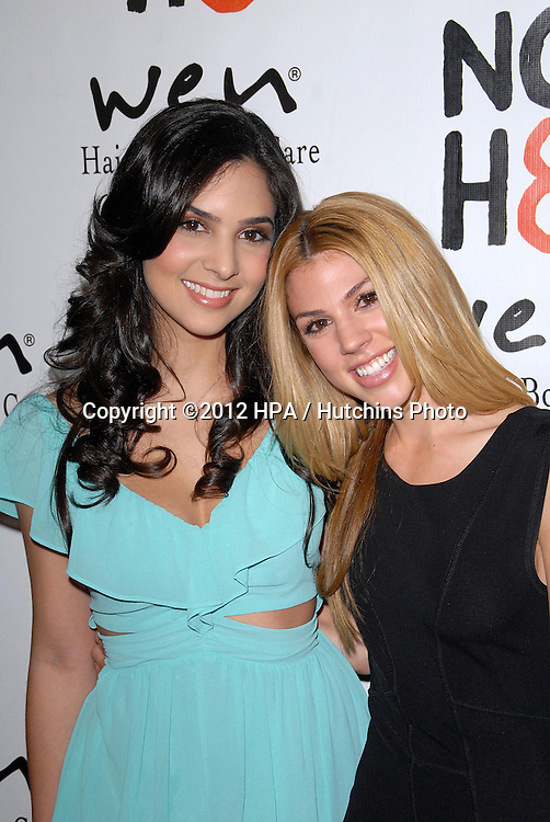 LOS ANGELES - DEC 12:  Camila Banus, Kate Mansi arrives to the NOH8 4th Anniversary Party at Avalon on December 12, 2012 in Los Angeles, CA