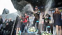 podium:<br /> 1/ Ian Stannard (GBR)<br /> 2/ Greg Van Avermaet (BEL)<br /> 3/ Edvald Boasson Hagen (NOR)<br /> <br /> Omloop Het Nieuwsblad 2014