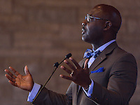 Rev. Dr. Willie James Jennings<br /> Associate Professor of Systematic Theology and Africana Studies at Yale Divinity School speaks at the  Louisville Presbyterian Theological Seminary Black Church Studies, 30th Anniversary of the Louisville Grawemeyer Awards.