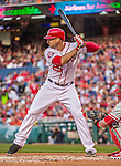 22 May 2015: Washington Nationals first baseman Clint Robinson in action against the Philadelphia Phillies at Nationals Park in Washington, DC. The Nationals defeated the Phillies 2-1 in the first game of their 3-game weekend series. Mandatory Credit: Ed Wolfstein Photo *** RAW (NEF) Image File Available ***