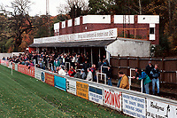 General view of Chesham United FC Football Ground pictured on 22nd October 1994