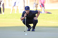 Thorbjorn Olesen (DEN) on the 17th green during Saturday's Round 3 of the 2018 Turkish Airlines Open hosted by Regnum Carya Golf &amp; Spa Resort, Antalya, Turkey. 3rd November 2018.<br /> Picture: Eoin Clarke | Golffile<br /> <br /> <br /> All photos usage must carry mandatory copyright credit (&copy; Golffile | Eoin Clarke)